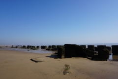 Remains of War-time Sea Defences